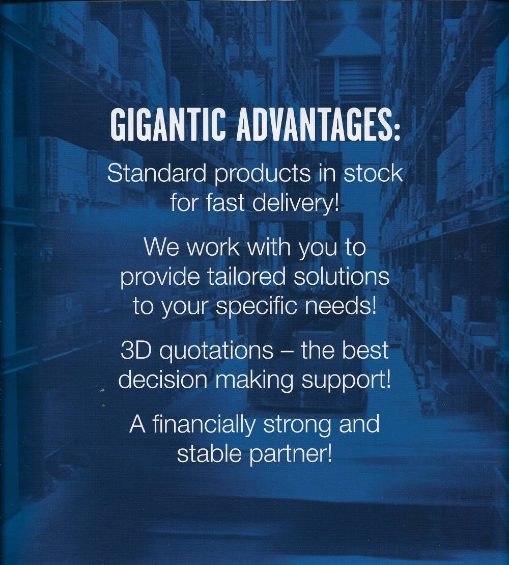 Gigantic advantages