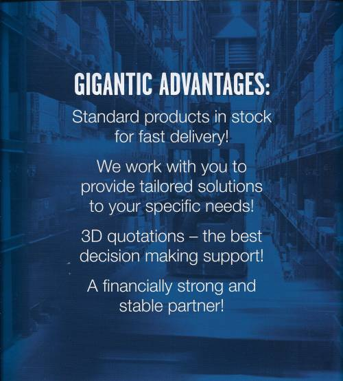 Gigantic advantages
