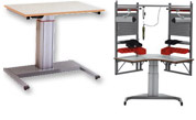 MPI motorised workstations and tables