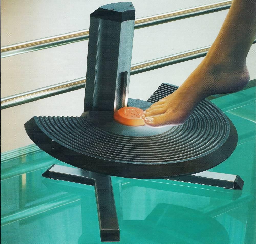 Discus Footrest