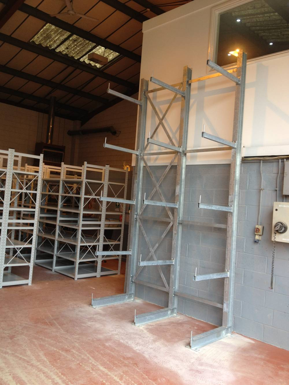 Cantilever racking - European Plant 2013