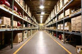 Sufficient warehouse lighting