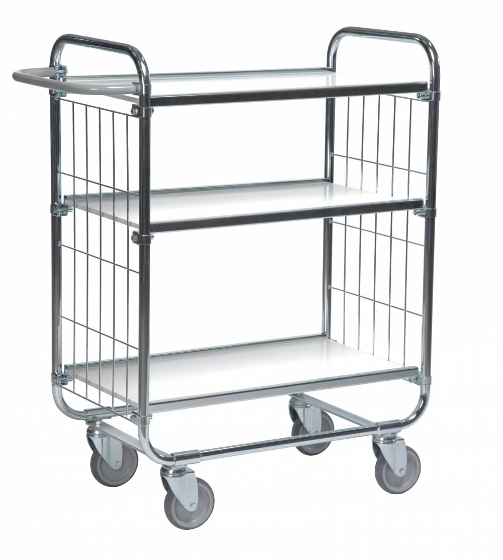 Flexible Shelf Mesh Trolley