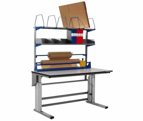 Packing bench motorised