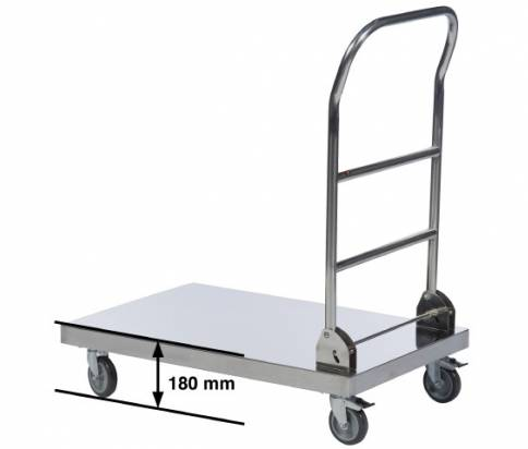 Stainless Steel Platform Trolley (16955-0100)