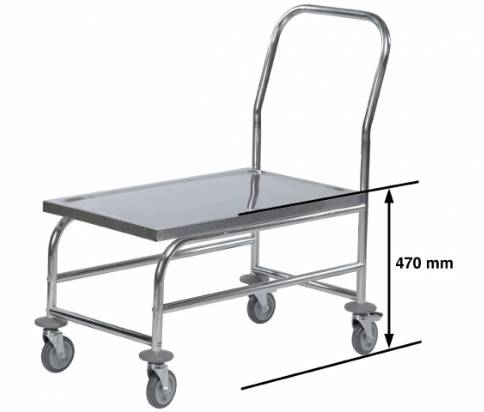 Stainless Steel Platform Trolley (16955-0209)