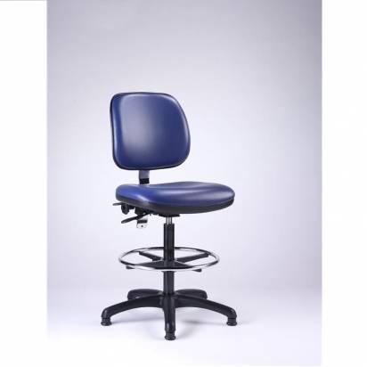 Upholstered vinyl chairs