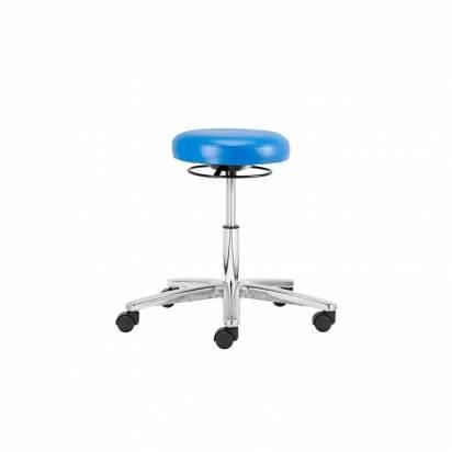 Cleanroom vinyl stool
