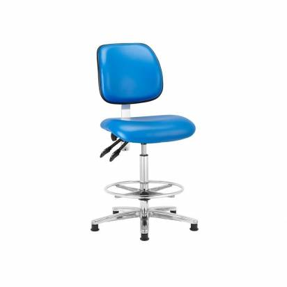 Cleanroom vinyl chairs