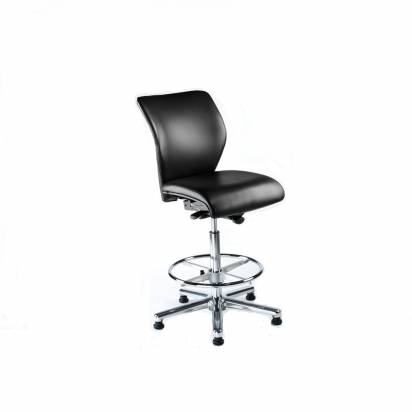 Cleanroom vinyl chairs with perm contact