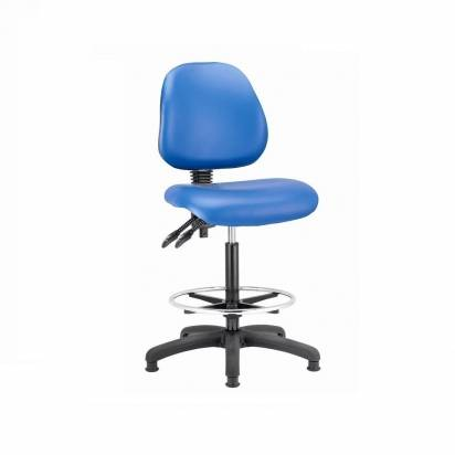Laboratory vinyl chairs