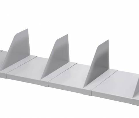 Shelf with Dividers