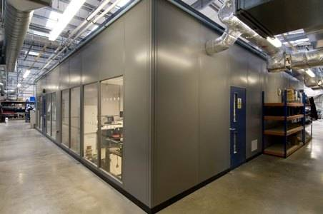 Elan Steel Partitioning
