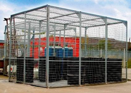 Outside Storage Cage