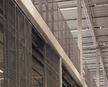 Caelum mezzanine  sliding doors