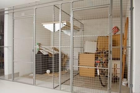 Cetus UR 350 Padlock Doors with Shelves