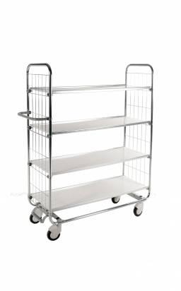 Flexible Shelf Trolley 4 Shelves (KM 8000-4S)