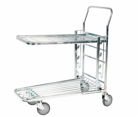 Trolley with Adjustable Shelf (KM 4202-E3)