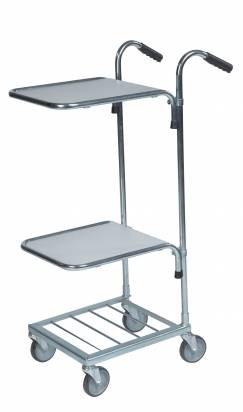 Mini Trolley with 2 Shelves (KM 153-HH)