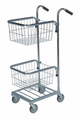 Mini Trolley with 2 Baskets (KM 153-TT)