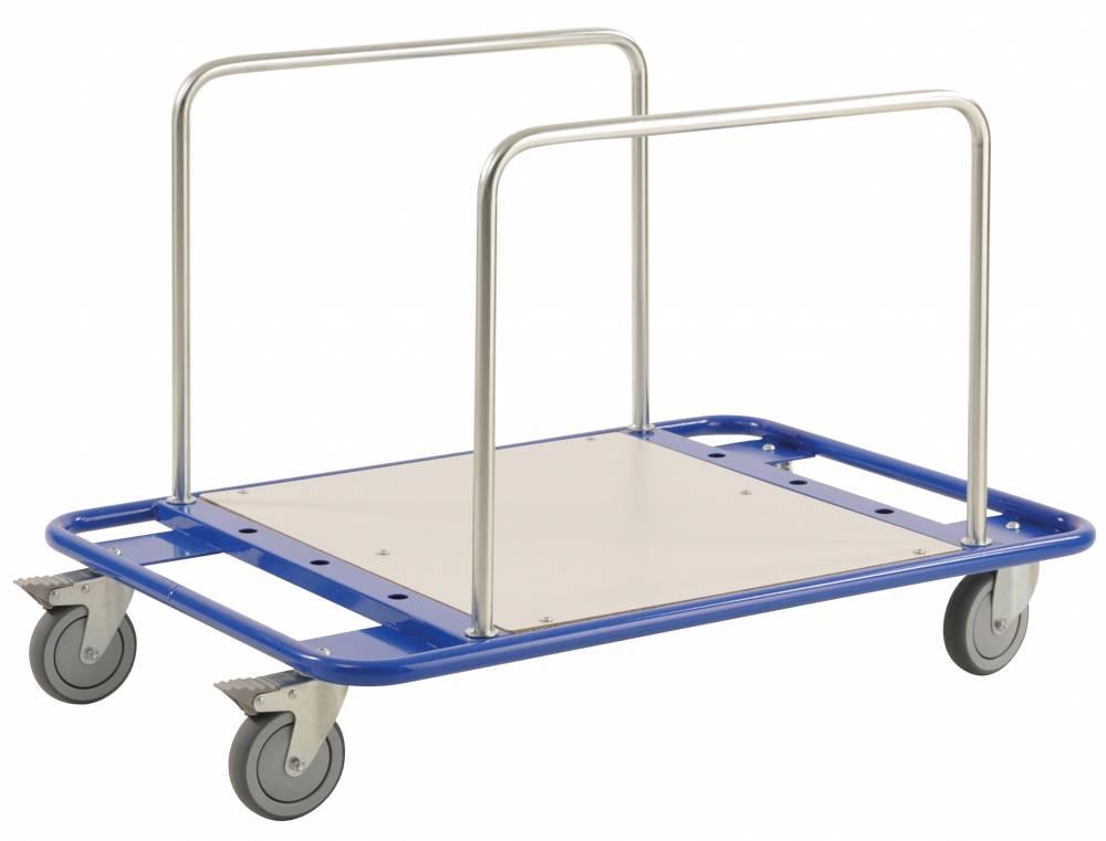 low level board trolley. Black Bedroom Furniture Sets. Home Design Ideas