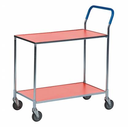 Shelf Trolley Orange