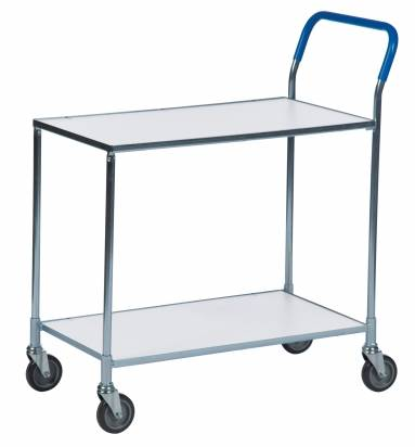 Shelf Trolley White