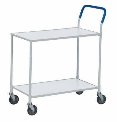 Shelf Trolley White Frame (KM 1730-6)
