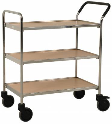Chrome Service Trolley (KM 30CR)