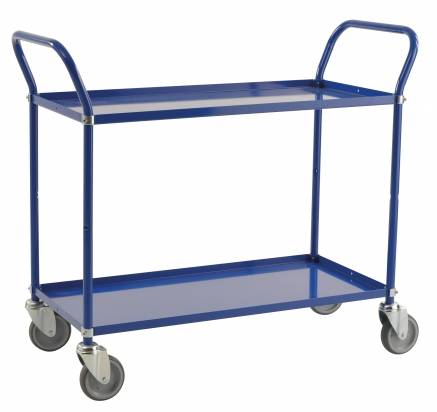 Long Shelf Trolley Blue (KM 4147-B)