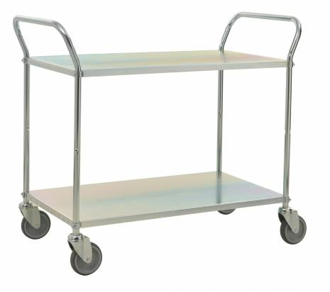 Long Shelf Trolley Electro Galvanised (KM 4147-E)