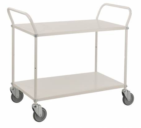 Long Shelf Trolley White (KM 4147)