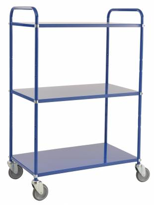 High Shelf Trolley Blue (KM 4123-B)