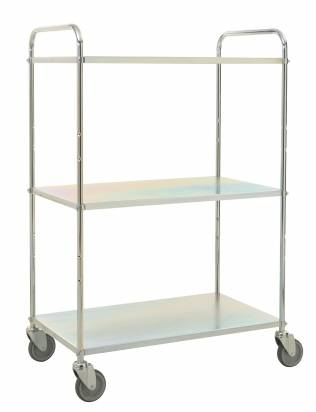 High Shelf Trolley Electro Galvanised (KM 4123-E)