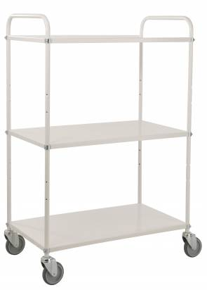 High Shelf Trolley White (KM 4123)