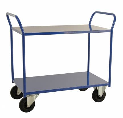 Fully Welded Shelf Trolley Blue (KM 4126-B)