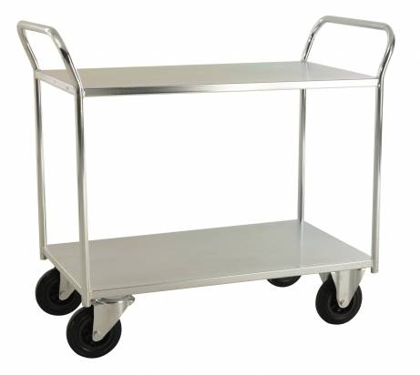 Fully Welded Shelf Trolley Electro Galvanised (KM 4126-E)