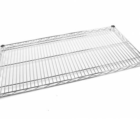 Chrom wire shelf