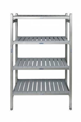 4 tier shelving unit