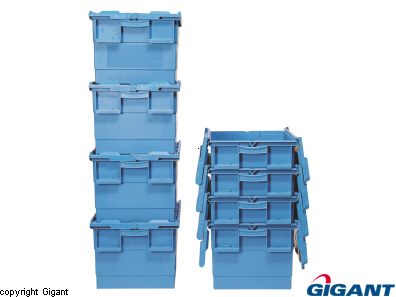 Transport Box of Polypropylene Blue