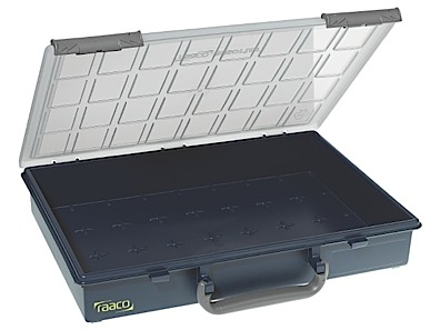 Inserts for spare drawers to storage cabinet Raaco
