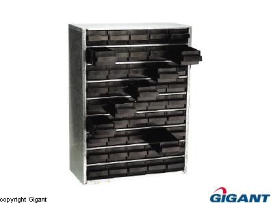 Storage cabinet ESD Raaco