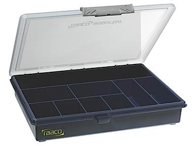 Storage box of PP height 43 Raaco