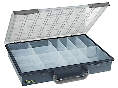 Storage box of PP height 57 Cold resistant Raaco