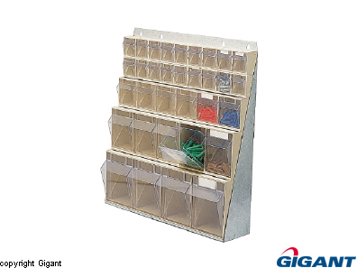 Storage chest, crystal clear, height 670