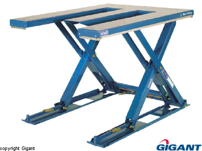 Low lift table E table MX Hymo
