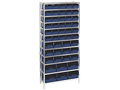 Shelving for Bins