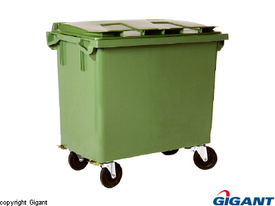 Waste container 660 L