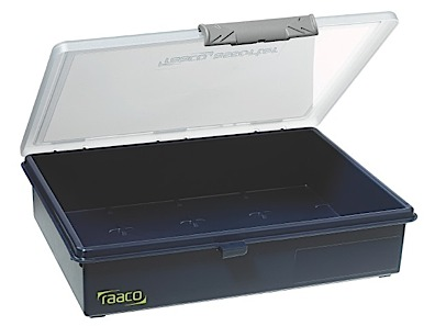 Storage box of PP height 56 Raaco
