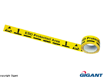Warning Tape ESD-Protected Area